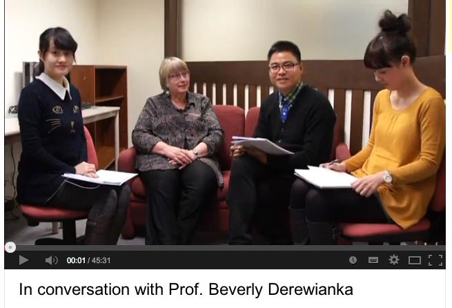 In Conversation with Beverly derewianka