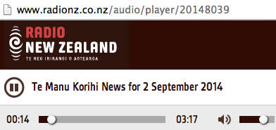 Radio New Zealand News Report