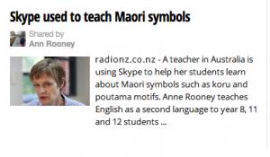 Te Maori news