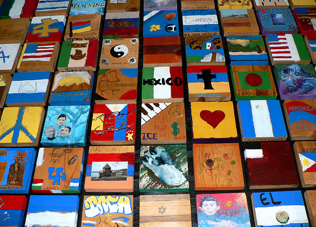 Diversity Tiles shared on Flickr by Stephanie Asher