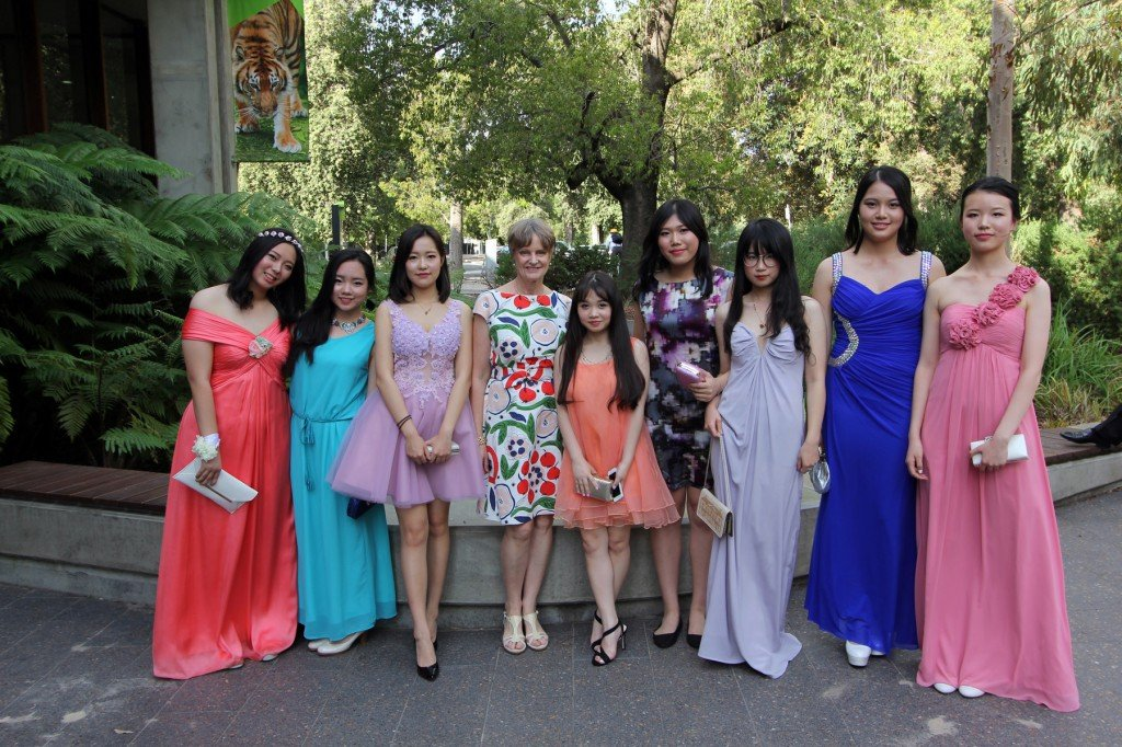 Senior Secondary 2015 School Formal. Me with my Year 11 and 12 ESL students.