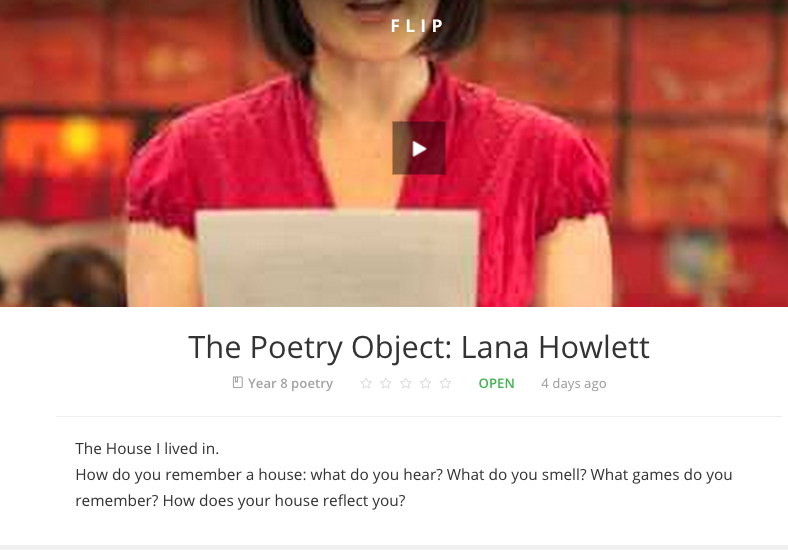 The Poetry Object: Lana Howlett