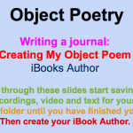 iBooks Poetry journal